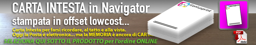 stampa carta intestata gratis