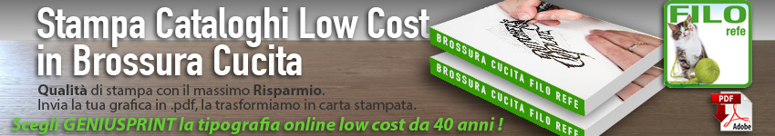 Stampa Cataloghi Low Cost
