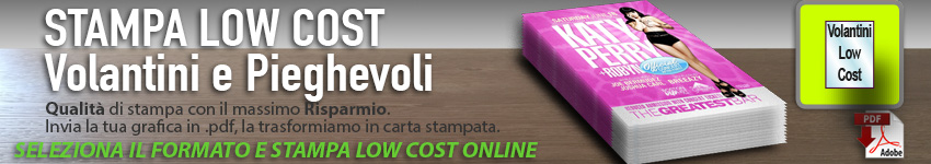 stampa low cost online