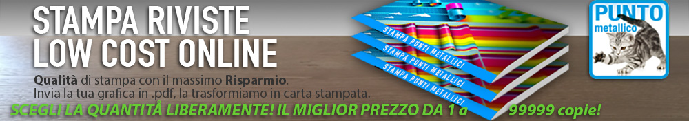 stampa riviste low cost