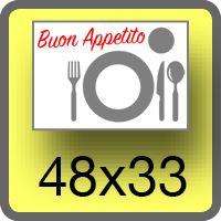Immagine di Tovagliette 48x33cm un lato da 360,84€