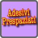 Adesivi PRESPAZIATI con Application Tape