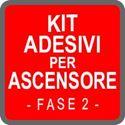 Kit di Adesivi calpesatbili o da vetrina con comunicazioni pronte all'uso